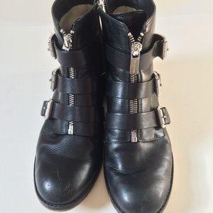 Michael Kors Boots, SZ 8 1/2, Used, Broken Zipper